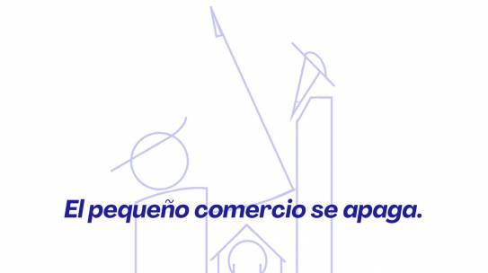 """TERCER APAGÓN REIVINDICATIVO """"EL PEQUEÑO COMERCIO SE APAGA"""""""